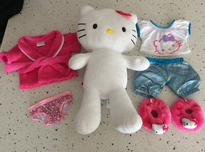 Hello Kitty Build a Bear + Matching Clothes & Shoes