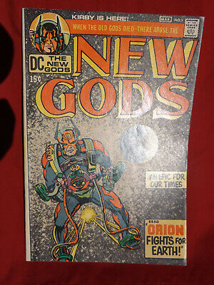 The New Gods #1 (Feb-Mar 1971, DC) First Appearance Of Orion
