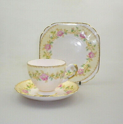 Vintage Tuscan Bone China Trio - Pat No 7584H