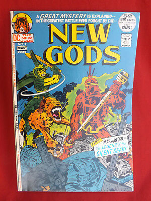 The New Gods #7 (Feb-Mar 1972, DC) Steppenwolf
