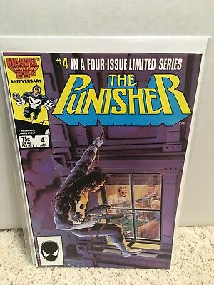 The Punisher #4 (Apr 1986, Marvel) NM