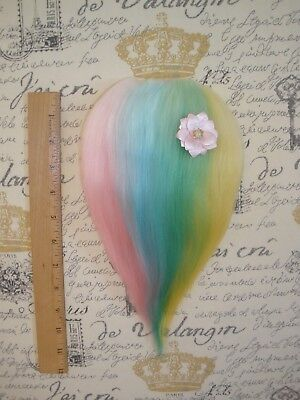 Troll Doll Wig Hair Mohair Replacement for Vintage or New Dam Scandia Wishnik 8