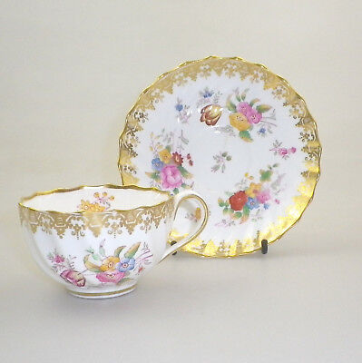 Antique W.T. Copeland Spode Cup and Saucer Pat. No. 5798