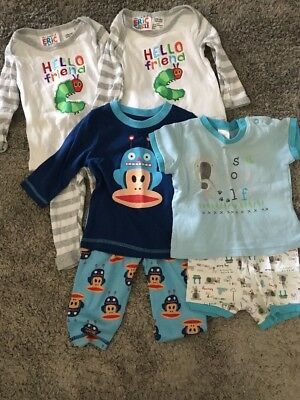4 Sets Boys Pjs - Target, The Very Hungry Caterpillar, Small Paul 0