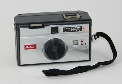 Kodak Instamatic 50 Camera (Film camera launched production in 1963)