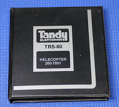 Tandy Radio Shack TRS-80 Helicopter Game on Cassette 260-7951 Level II 16K