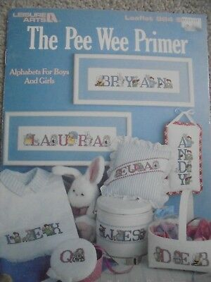 Cross Stitch Alphabets for girls & boys. The Pee Wee Primer. 6 pages.