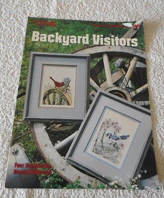 Backyard Visitors by Randy McGovern Counted Cross Stitch Charts 4 designs