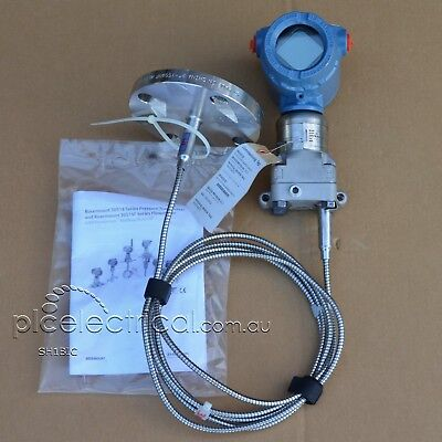 QTY: NEW Emerson Rosemount 3051S Pressure Transmitter & Remote Mount Seal System