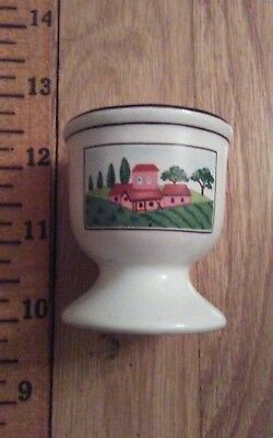 Vintage Collectible Villery & Boch Luxembourg Egg Cup
