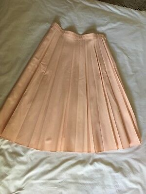 VINTAGE RETRO 70's SUNRAY PLEATED WOMENS LADIES SKIRT Size 14