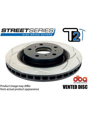 2 x DBA T2 Slotted Rotor FOR SCION FR-S ZN6 (DBA650S)