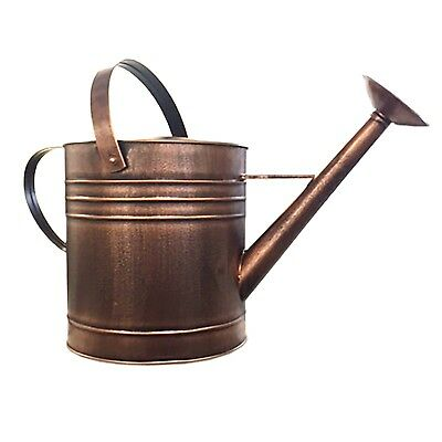 Holman WATERING CAN 1.8L Two Handles, Galvanised Rose COPPER FINISH *Aust Brand