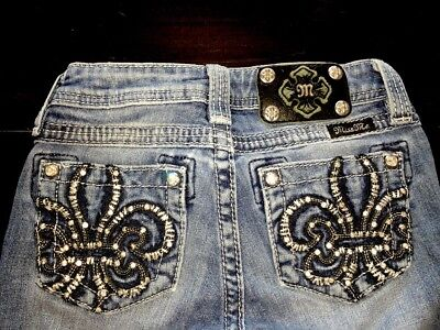 Miss Me Boot Cut Jeans Size Girls 8