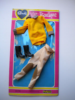 SINDY doll outfit-PONY CLUB complete,  with packet-PEDIGREE 1982