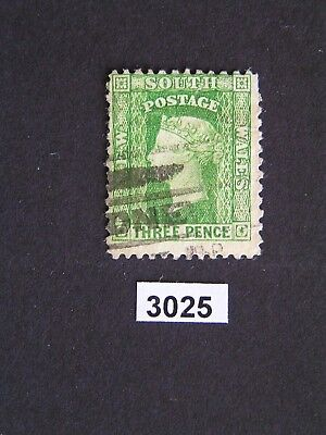 New South Wales 1871 3d SG 139 Poss. High Cat Used Stamp