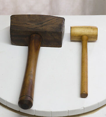Old Wooden Mallets Thor Style