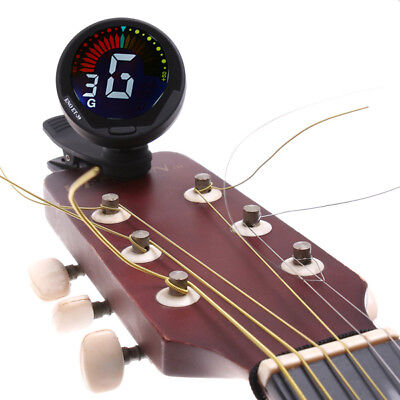 ENO Top Quality 360degree Mini Auto Clip Guitar Tuner for Chromatic Guitar Bass