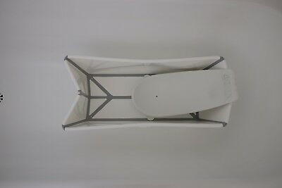 Used Stokke Flexi Foldable Baby Bath White With Newborn Support