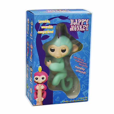 FINGER HAPPY MONKEY LINGS BABY  PET INTERACTIVE ELECTRONIC KIDS TOY Boys Girls