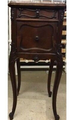 19th Century French Walnut Pot Cupboard/Bedside Cabinet