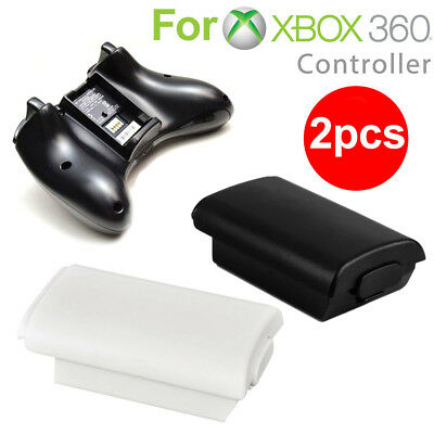 2Pcs AA Battery Back Cover Pack Holder Shell Case Replacement For Xbox360 AA5