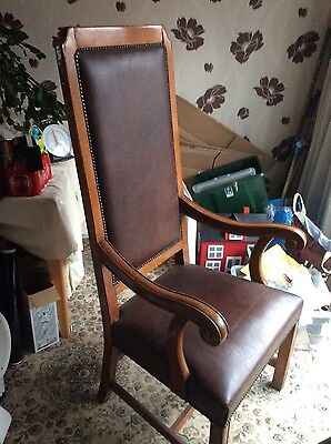Old throne,chancellors chair