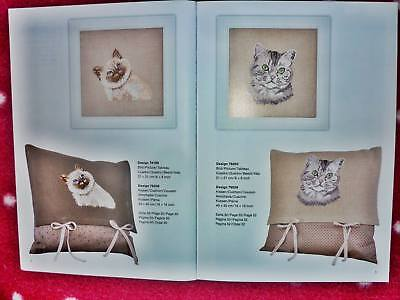 Kreuzstich Cross Stitch ♥ Rico Design 134 - Cats and Dogs ♥ Dackel Katzen Hunde