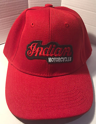 Indian  Baseball cap motorbike motorcycle Embroidered Patch