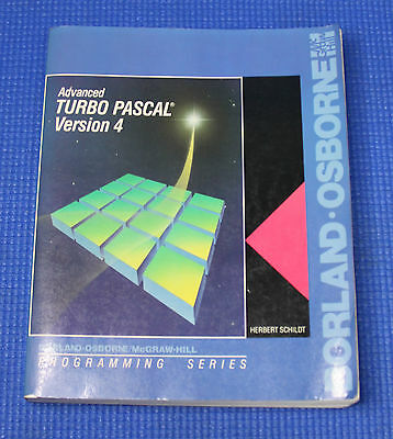 Advanced TURBO PASCAL Version 4 Programming Series Book