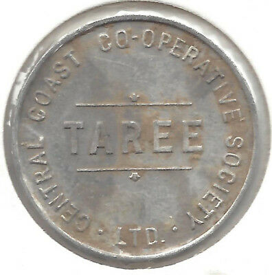 Central Coast Co-Op Soc Ltd Taree One Loaf Rd Bread Token
