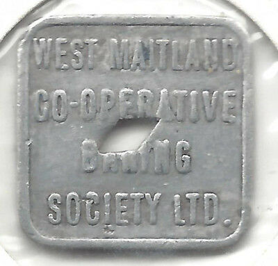West Maitland Co-Op Baking Soc Ltd Good For One Loaf Rd Diamond Hole Alum Square