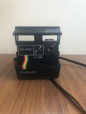 Retro Polaroid One Step 600 Instant Land Camera.