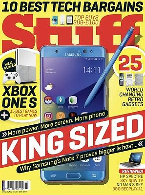 Stuff Gadget Magazine October 2016 (BRAND NEW BACK ISSUE)