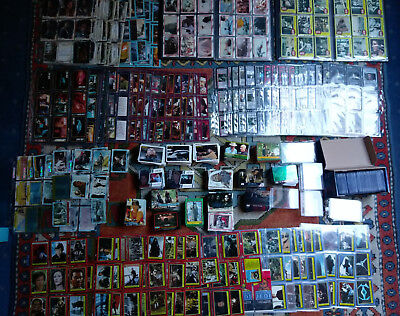 2500+ Trading Cards: topps + ccg Star Wars, Start Trek, Indiana Jones, Close Enc