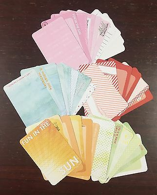 """10cm x 15cm """"SUMMER"""" SCRAPBOOKING DOUBLESIDED CARDSTOCK, 36 pack, 216gsm"""