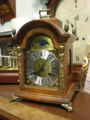 Mantle Clock Hermle 130-070 Holland Dutch Moon Dial warmink style parts No.723
