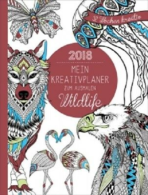 Kreativplaner 2018 Motiv Wildlife