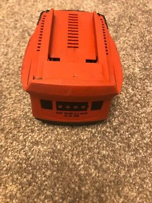 Hilti 22v Battery used but good working order
