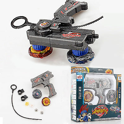 4D Beyblade Metall Fusion Top Arena Metall Masters Launcher Grip Sets Spielzeug