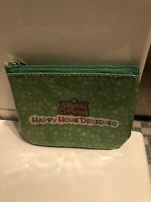 Animal Crossing Happy Home Designer Pouch, Brand New & Sealed, AUS, Money Pouch