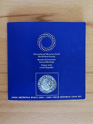 2000 Czech Republic Coin Set, International Monetary Fund World Bank Group