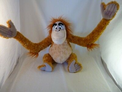 Disney Store Large King Louie Orangutan The Jungle Book Plush Soft Toy Teddy VGC