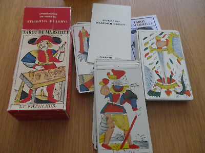 jeu de cartes - TAROT DE MARSEILLE - reproduction