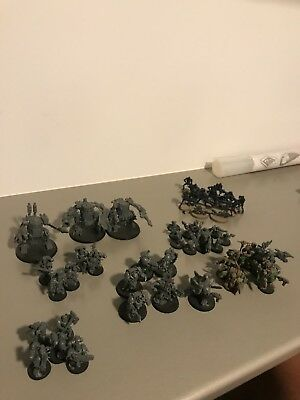 Warhammer 40 000 Orks, Spacewolves and Necrons