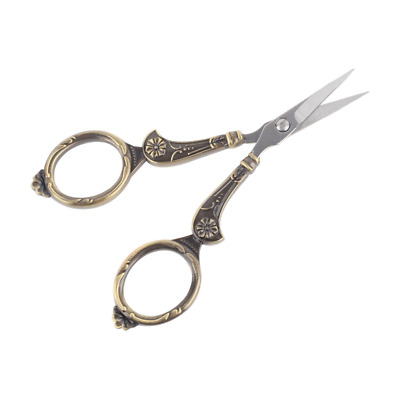 UOOU Vintage European Style Plum Blossom Scissors for Embroidery, Craft, Sewing