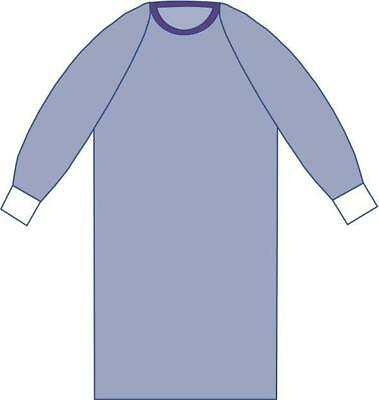 Medline Sterile Non-Reinforced Aurora Surgical Gowns with Raglan Sleeves (L-2XL)