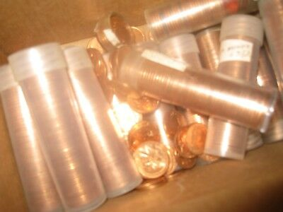 10 rolls 1964 canada small cents from an uncirculated bag   see description