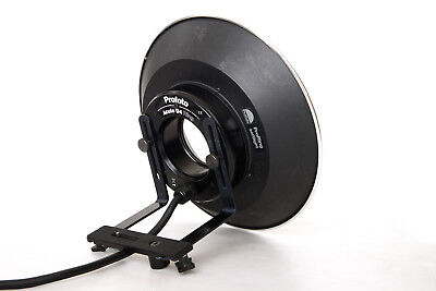 Profot Acute D4 Ring Flash, Camera Mount and Pro Ring Soft Light Reflector