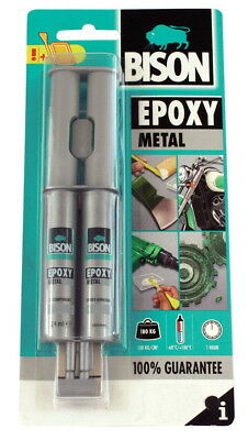 BBISON EPOXY METAL Ironclad and Metallic Two-Component Adhesive Glue FAST BOND